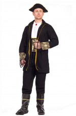 Mens Buccaneer Pirate Halloween Costume