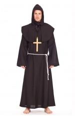 Mens Std Monk Party Fancy Dress Costume Religious Friar Tuck Saints Gents