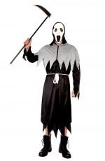 Mens Grim Reaper Deluxe Men Halloween Costume