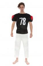 Mens American Football Player Halloween Fancy Dress Adult Costume