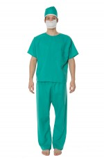 Mens Doctor Uniform Fancy Dress Costume