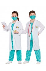 Kids Doctors Surgeon Nurse Halloween Costume