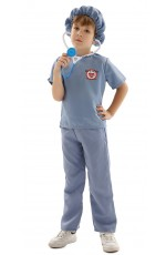 Kids Doctor Surgeon Halloween Costume