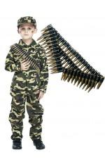 Boys Army Military Costume vb4011