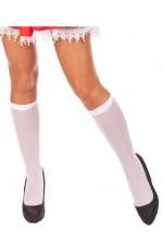 White knee high stockings VZP-305W