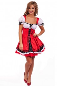 Oktoberfest Costumes Australia - Oktoberfest Wench Beer maid costume
