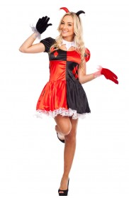 Circus Themed Costumes - Lady Circus Outift Cirque Clown Fancy Dress Halloween Costume