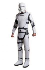 Star Wars Force Awakens Adults Deluxe Flametrooper Fancy Dress Costume