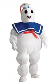 Kids Inflatable Stay Puft Marshmallow Costume cl884331