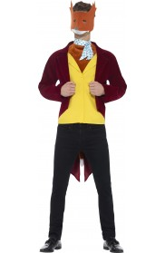 Mens Fantastic Mr Fox Roald Dahl World Book Week Fancy Dress Up Costume
