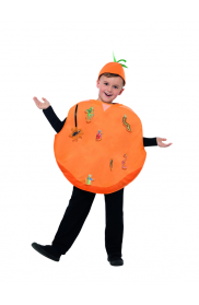 Kids Roald Dahl James And The Giant Peach Costume Boys Girls Book Week Fruits