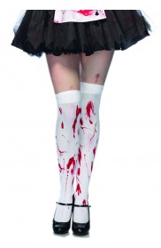 Zombie Bloody Thigh Highs LA-6675