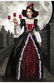 Vampire Medieval Renaissance Halloween Costumes LB-8080_1