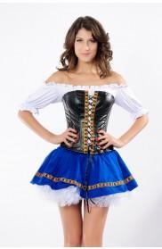 Oktoberfest Costumes Australia - Oktober Beer Maid Fancy Dress Costume