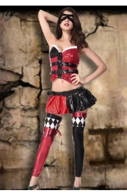 Harley Jester Clown Costumes LC-8730_1