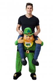 St Patricks Day Ride on Me Fancy Dress Costume LF0004