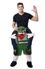 Oktoberfest Shoulder Carry Piggy Back Ride On Me Costume lf0005