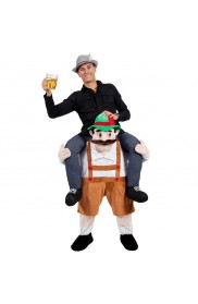 Oktoberfest Shoulder Carry Piggy Back Ride On Me Costume