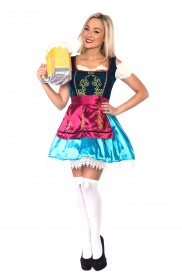Ladies Beer Maid Costume LH173_1