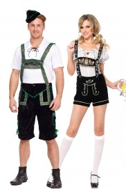 Couple Oktoberfest Bavarian Costume lh201+lb5002