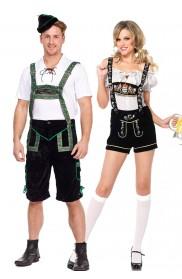 Couple Oktoberfest Bavarian Costume lh201+lb5002