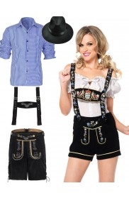 Couples Oktoberfest Girls and German Costume lh220blb5002lh999