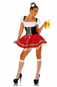 Ladies Wench German Heidi Costume lz8046r