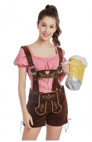 196bb2a2636 ... Fancy Dress Halloween.  44.90. Ladies Oktoberfest German Bavarian Beer  Maid Vintage Costume Lederhosen