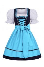 Ladies Oktoberfest Vintage Costume ln1001b