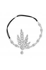 1920s Silver Vintage Headband Great Gatsby Flapper Headpiece