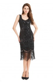 plus size gatsby dress lx1039_6