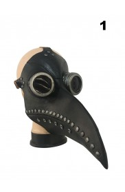 Steampunk Bird Plague Doctor Masker  lx2024-1