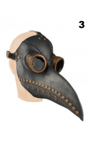 Steampunk Bird Plague Doctor Masker lx2024-3