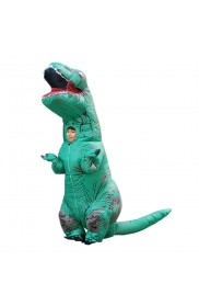 Green Child T-Rex Blow up Dinosaur Inflatable Costume tt2001nkidgreen