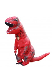 Red Child T-Rex Blow up Dinosaur Inflatable Costume  tt2001nkidred