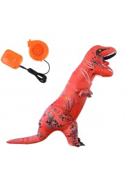 Red ADULT T-REX INFLATABLE Costume Jurassic World Park Blowup Dinosaur TRex T Rex