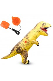Yellow ADULT T-REX INFLATABLE Costume Jurassic World Park Blowup Dinosaur TRex T Rex