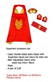 Iron man Cape & Mask Costume set