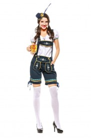 Ladies Oktoberfest Beer Maid Costume 3106