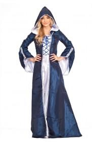 Medieval Costumes - Ladies Vintage Renaissance Medieval Halloween Costume
