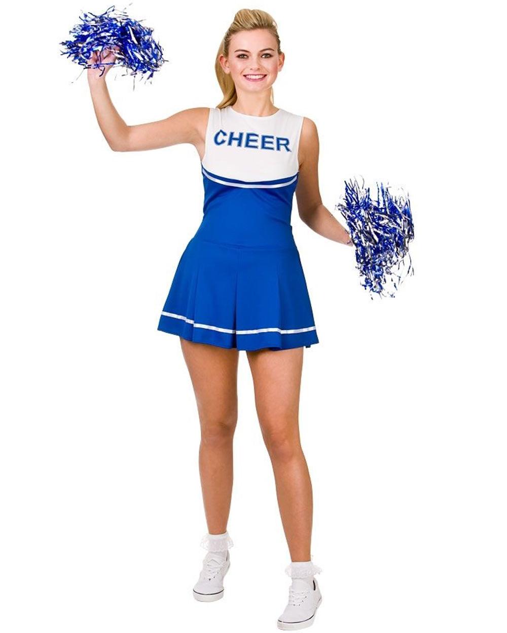 blue cheerleader costumes online