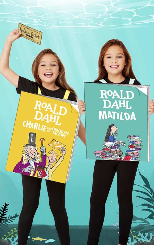 Book Cover Character costumes for kids
