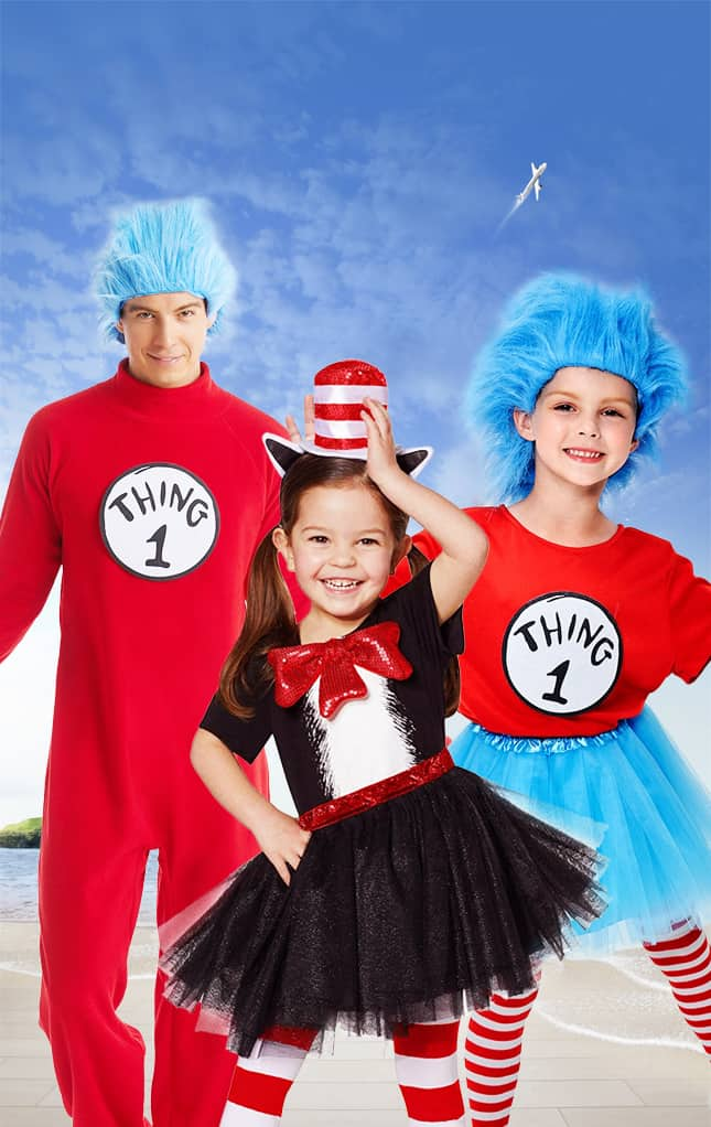 Cat in the Hat Dress up characters