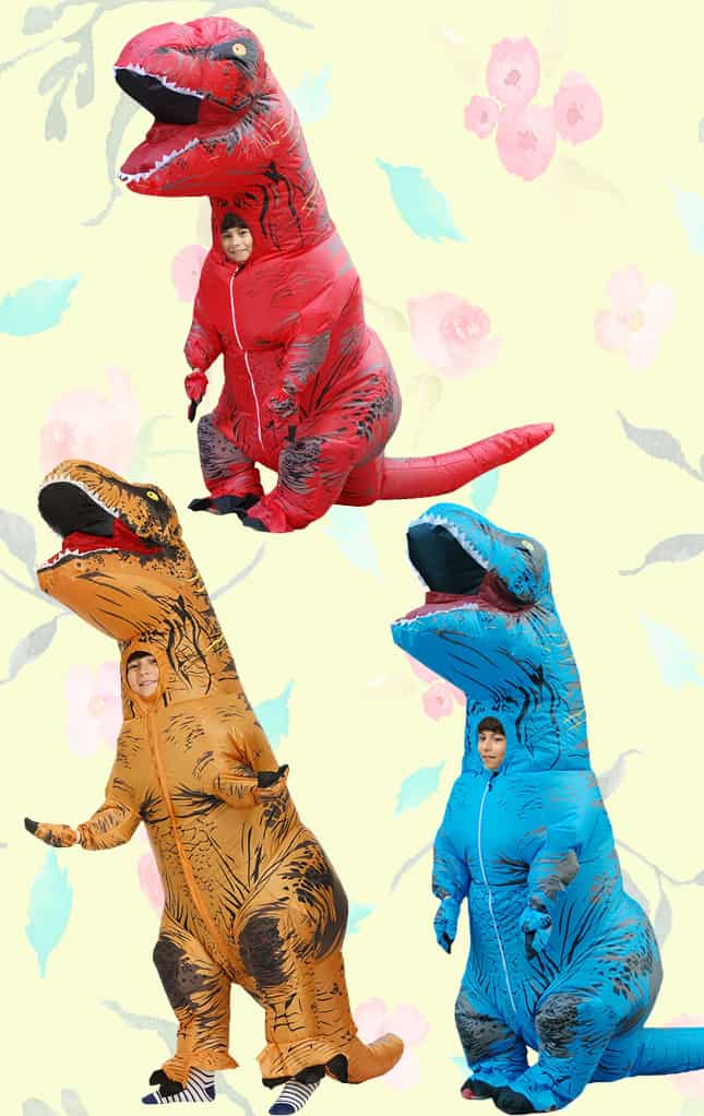 T-Rex Inflatable Dinosaur Costumes