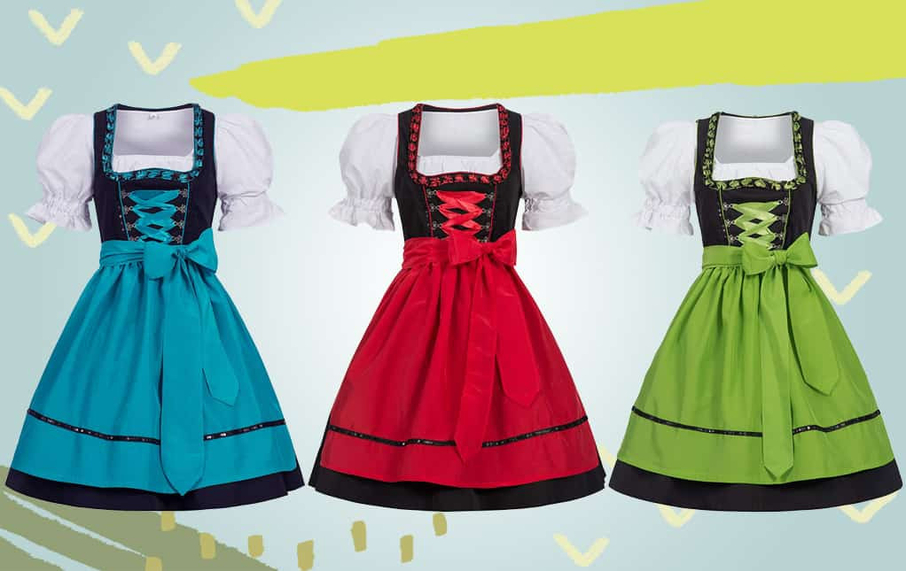 Oktoberfest costumes for women