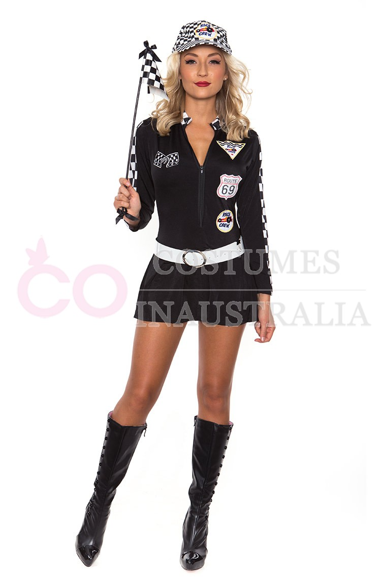 The gallery for --u0026gt; Race Car Driver Costume Women
