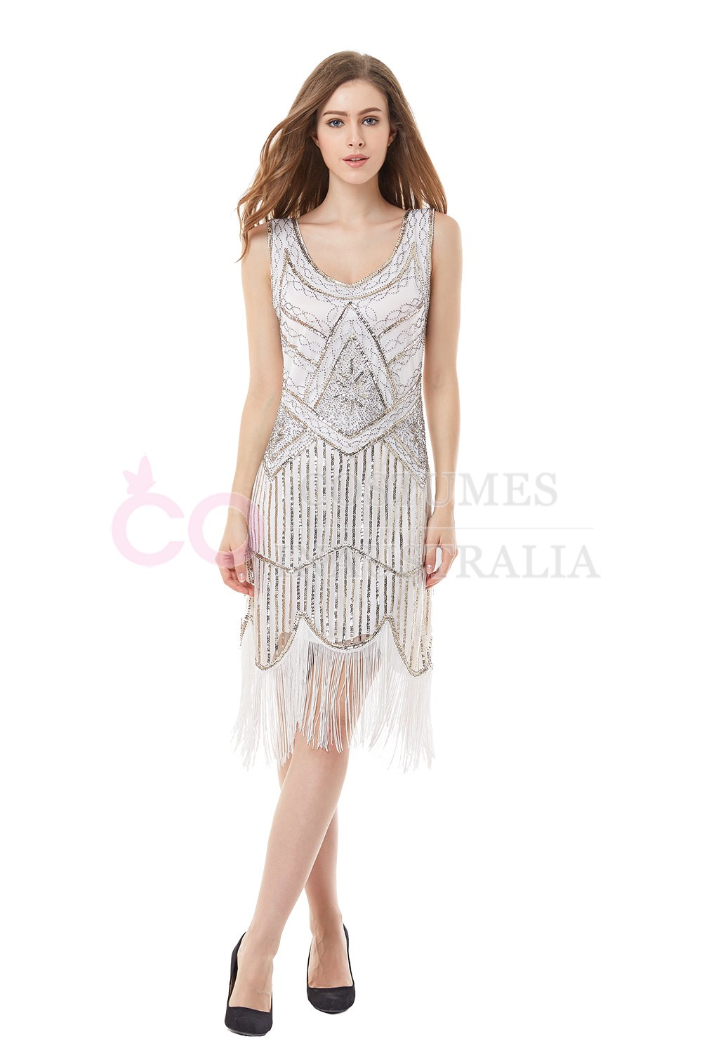 1920s vintage great gatsby charleston 20s flapper fancy dress gangster ladies dc