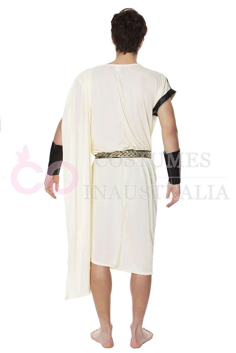caesar adult roman greek julius toga costume fancy dress halloween