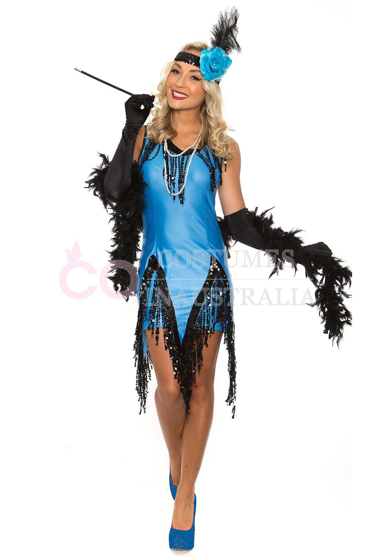 Womens 1920s flapper dress fancy dress costume adult flapper dress - 1920 Flapper Lh190 1920 Flapper Lh190 Ladies 20s 1920s Charleston Flapper Chicago Fancy Dress Costume