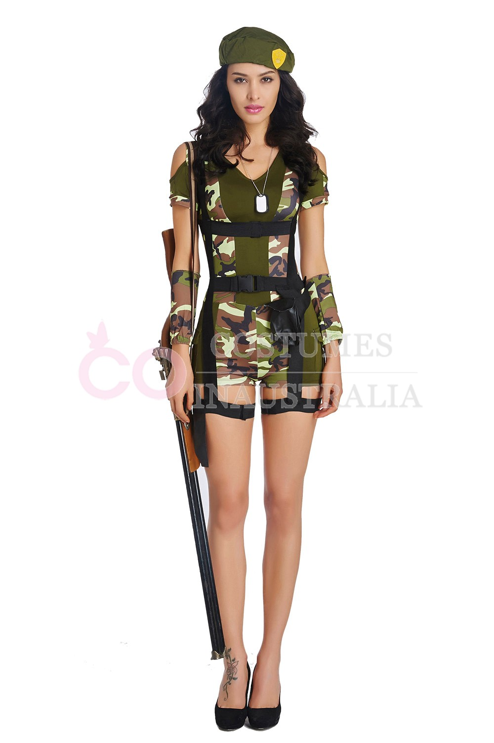 Product Ladies Army Girl Military Uniform Womens